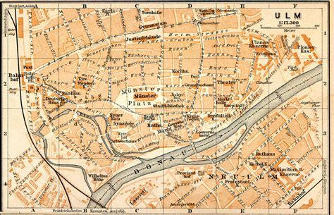 tubingen germany map ulm germany map
