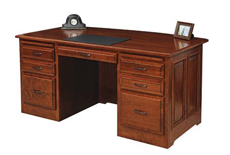 Liberty Classic Desk Amish Furniture Designed Classic Office Desk