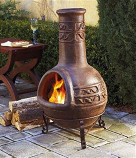 Open Chiminea Pit Or Chiminea Choosing Which To Add To Your