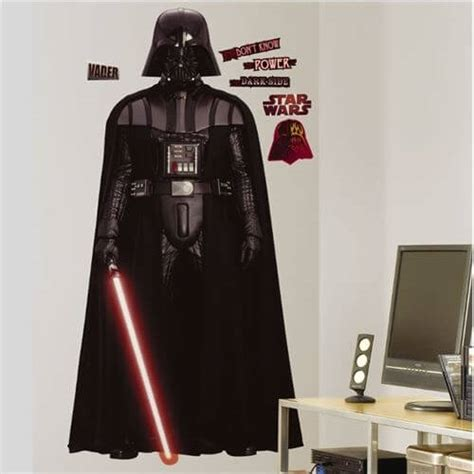 darth vader wall sticker darth vader wallsticker k 248 b wars wallstickers