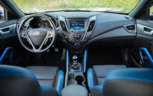 Hyundai Veloster Interior Review 2016 Hyundai Veloster Turbo Rally Edition