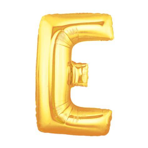 Jual Balon Huruf E jual grins and giggles foil huruf e gold balon