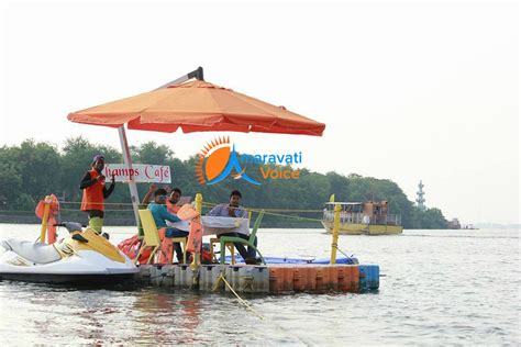 floating boat restaurant news floating restaurant on krishna river and new water sports
