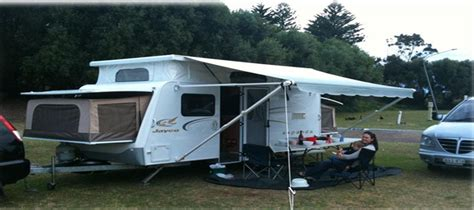 roll out awnings for motorhomes how to set up a roll out awning for jayco vans australia