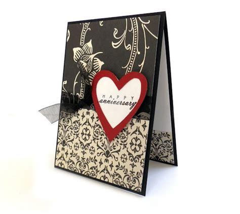 Handmade Greetings For Anniversary - anniversary card happy anniversary handmade greeting card
