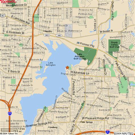 arlington texas on map kayak inc lake arlington map