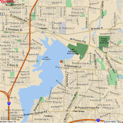 arlington map kayak inc lake arlington map