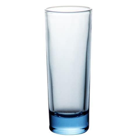Blue Bar Glasses Barconic 174 Glassware 2 Ounce Light Blue Glass