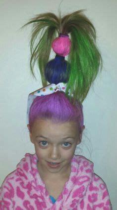 easy wacky hairstyles for school class on hair days hair and wacky hair