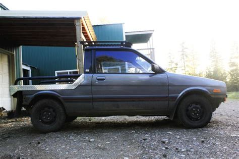 subaru justy lifted just us justy s d the official justy owners club page