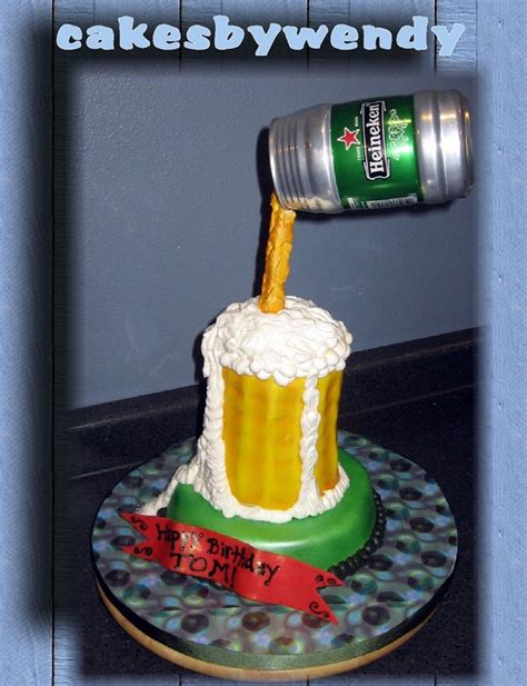 beer can cake suspended beer can cake cakecentral com