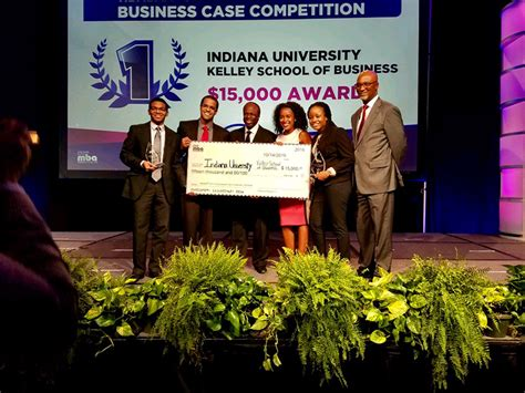 Kelley Mba Investment Fund by Second Year In A Row National Black Mba Winners
