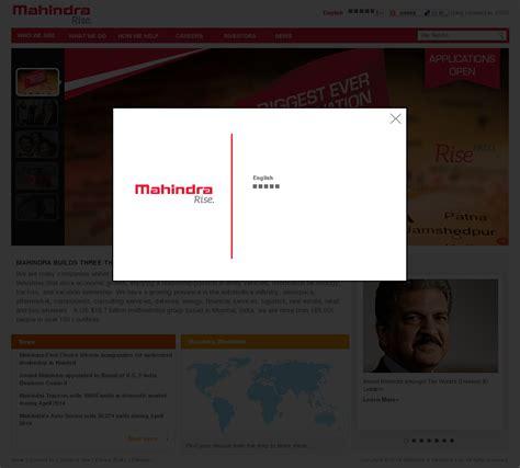 website of mahindra mahindra company profile owler