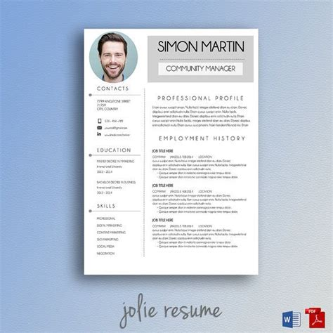 simple resume edit 14 best images about curriculum vitae on free