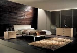 Bedroom modern and contemporary wood bedroom furniture design