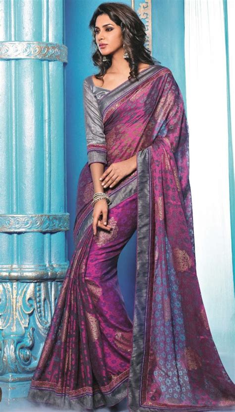 Plus Size Blouse For Saree by Blouse Designs To Enhance You Saree Look