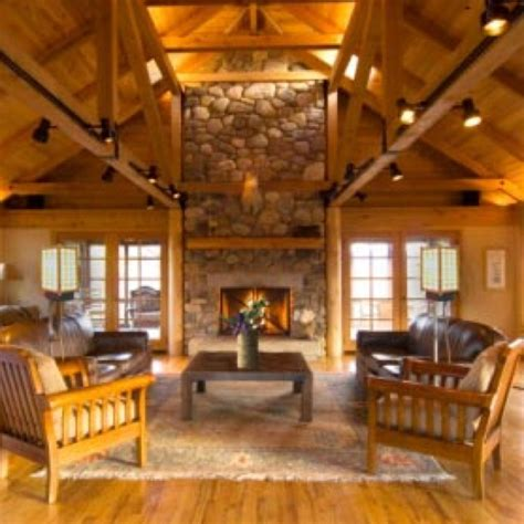 log cabin living room ideas cabin decor up north pinterest