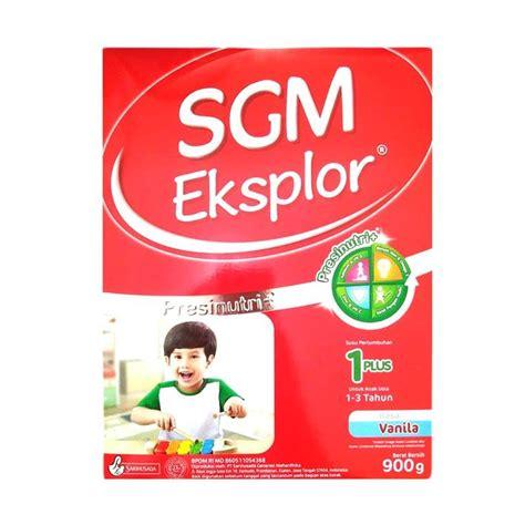 Sgm 1 Plus by Jual Sgm Eksplor 1 Plus Presinutri Formula Vanila