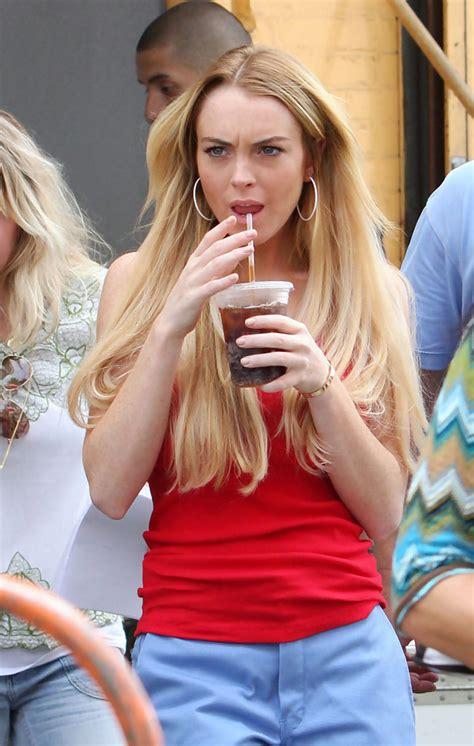 Lindsay Lohan Will Spoil Betty by Lindsay Lohan Photos Lindsay Lohan On The Set Of