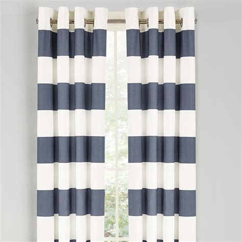 Striped Window Curtains Cabana Stripe Drapes From Beddingstyle