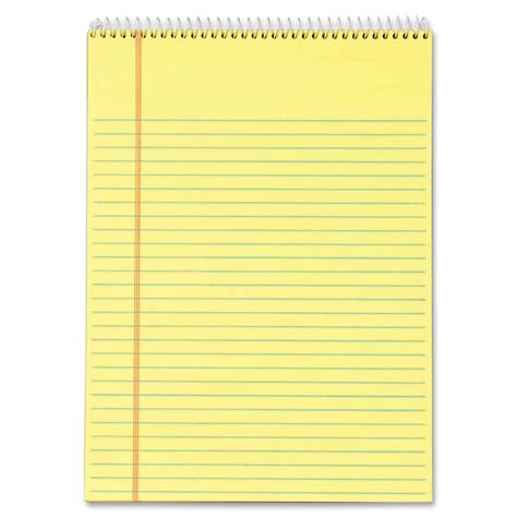 writing pad paper tops docket wirebound writing pad ld products