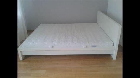 Ikea Malm Bett Niedrig Wei 223 Nazarm