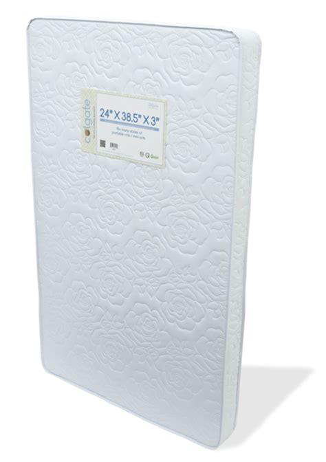 portable crib mattress 3 firm foam colgate mattress