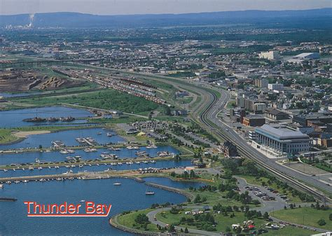 Address Lookup Ontario Canada Thunder Bay Aerial View The Gateway To Northwestern Ontario History