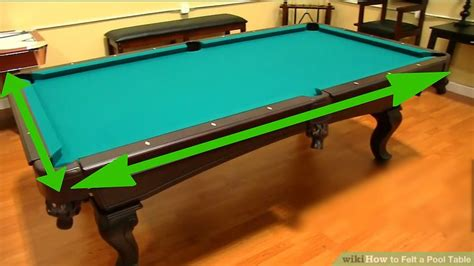 how to a pool table how to felt a pool table with pictures wikihow