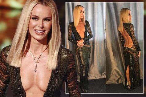 New Amanda 3 Dress amanda holden s baring britain s got talent prompts most ofcom complaints of the whole year