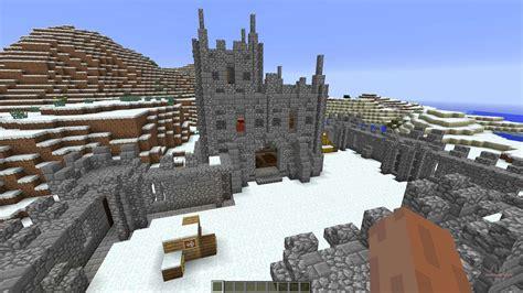 mini castle  minecraft
