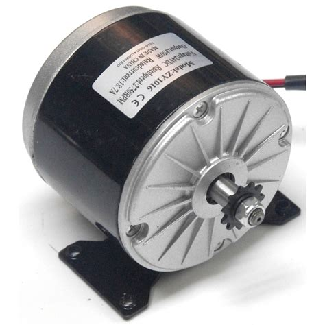 24v Electric Motor by United My1016 350w 24v Dc Motor With 11 Tooth Chain Sprocket