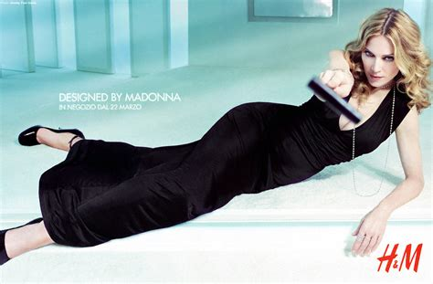 Madonna For Hm Billboard Vandalized by The Hm Caign Hits The Italian Press Madonnatribe Decade