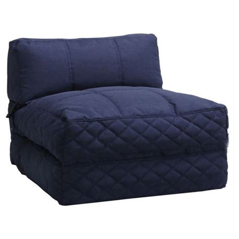 large futon buy leader lifestyle big chill fabric futon chair bed from