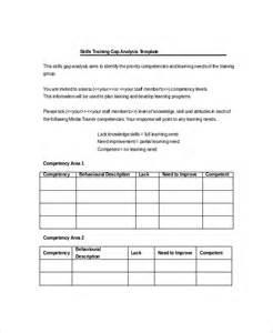 sales skills assessment template 5 gap analysis templates free sle exle