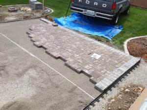 How To Level Ground For Patio by Ground Leveling For Patio Spokane Excavation