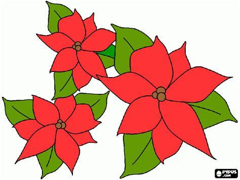 Image Gallery Nochebuenas Para Imprimir | noche buena para colorear noche buena para imprimir