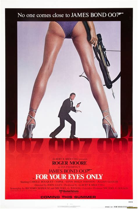 film james bond for your eyes only a common bond posterwire com