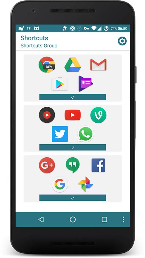 Play Store Shortcut Shortcuts ᴾᴿᴼ Android Apps On Play