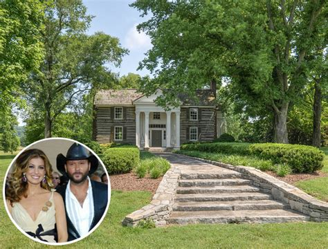 faith hill and tim mcgraw selling farm in franklin tennessee