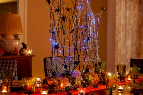magnificent diy halloween table decorations