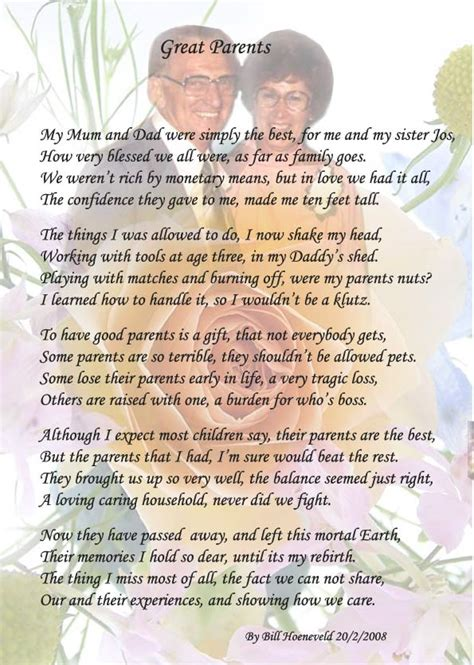 parent poem poetry for all poems on parents