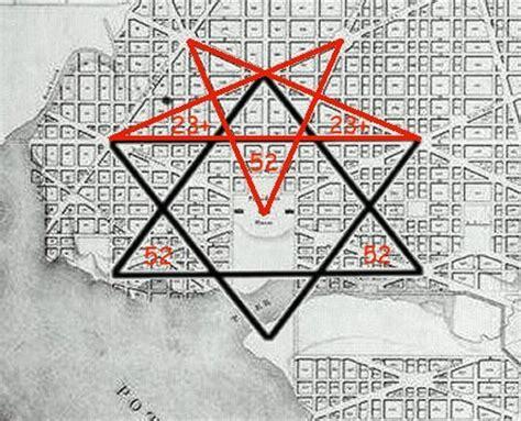 washington dc pyramid map dc map grid
