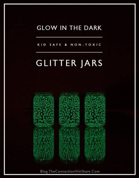 glow in the paint jar glitter 91 best school themed days images on sensory