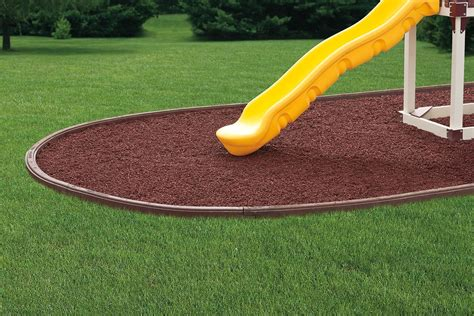 mat for under swing set recycled rubber mulch curbing and mats for playgrounds