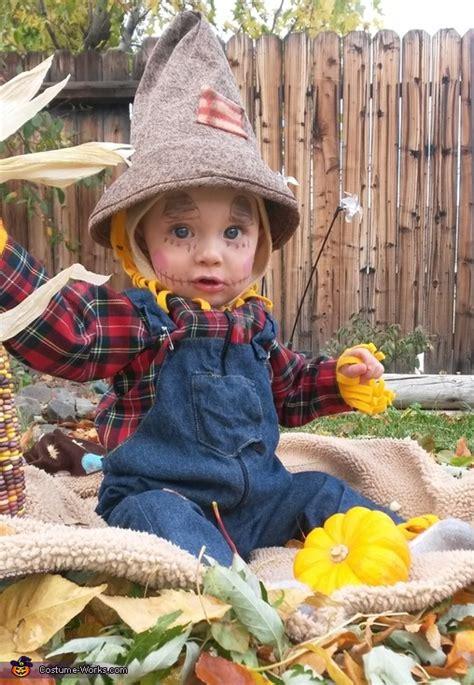 scarecrow baby halloween costume