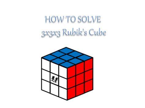 tutorial rubik layer 3 how to solve a 3x3x3 rubiks cube