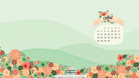 Fondos De Calendarios Calendarios Fondo De Pantalla Para Inaugurar La Primavera