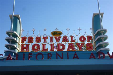 disney california adventure s new festival of holidays is pretty darn touringplans