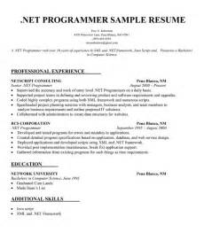 Xml Programmer Cover Letter by Net Developer Cover Letter Defender Investigator Cover Letter Sle Dot Net Resume For